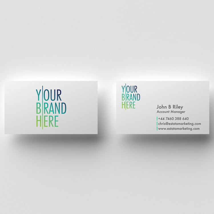 Estata Marketing creates bespoke business cards printing and graphic design