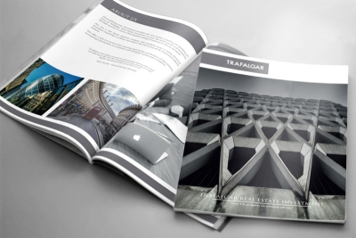 Bespoke Design for Trafalgar Real Estate Property Brochure